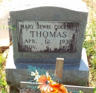 THOMAS, MARY JEWEL - Claiborne County, Louisiana | MARY JEWEL THOMAS - Louisiana Gravestone Photos