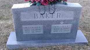 BAKER, JOSEPH L - De Soto County, Louisiana | JOSEPH L BAKER - Louisiana Gravestone Photos