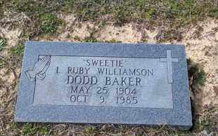 BAKER, I RUBY - De Soto County, Louisiana   I RUBY BAKER - Louisiana Gravestone Photos