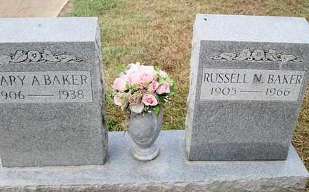 BAKER, RUSSELL N - De Soto County, Louisiana | RUSSELL N BAKER - Louisiana Gravestone Photos