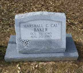 BAKER, MARSHALL C CAL - De Soto County, Louisiana | MARSHALL C CAL BAKER - Louisiana Gravestone Photos