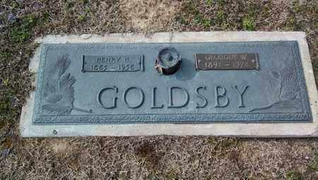 GOLDSBY, GEORGIA W - De Soto County, Louisiana | GEORGIA W GOLDSBY - Louisiana Gravestone Photos