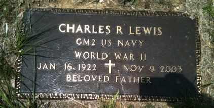 LEWIS, CHARLES R (VETERAN WWII) - De Soto County, Louisiana | CHARLES R (VETERAN WWII) LEWIS - Louisiana Gravestone Photos