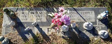 TEMPLE LEWIS, MINNIE - De Soto County, Louisiana   MINNIE TEMPLE LEWIS - Louisiana Gravestone Photos