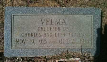 NUNLEY, VELMA - De Soto County, Louisiana   VELMA NUNLEY - Louisiana Gravestone Photos