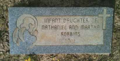 ROBBINS, INFANT DAUGHTER - De Soto County, Louisiana | INFANT DAUGHTER ROBBINS - Louisiana Gravestone Photos