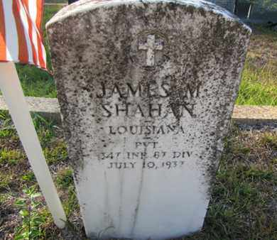 SHAHAN, JAMES M (VETERAN ) - De Soto County, Louisiana | JAMES M (VETERAN ) SHAHAN - Louisiana Gravestone Photos