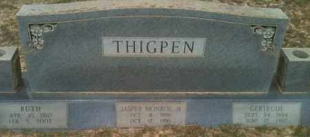 THIGPEN, RUTH - De Soto County, Louisiana | RUTH THIGPEN - Louisiana Gravestone Photos