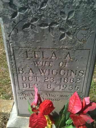 WIGGINS, LELA A - De Soto County, Louisiana | LELA A WIGGINS - Louisiana Gravestone Photos