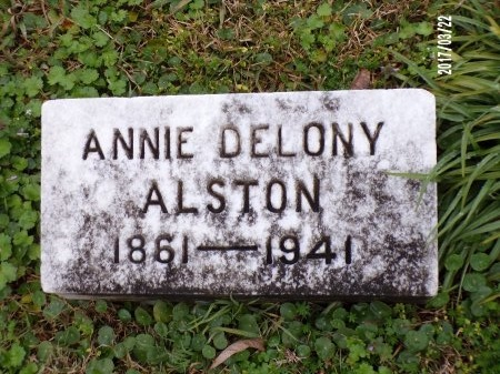 DELONY ALSTON, ANNIE - East Carroll County, Louisiana | ANNIE DELONY ALSTON - Louisiana Gravestone Photos