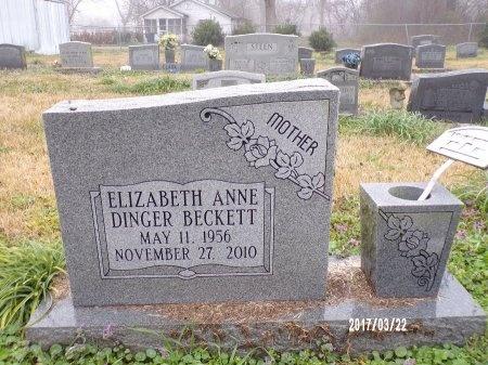 BECKETT, ELIZABETH ANNE - East Carroll County, Louisiana | ELIZABETH ANNE BECKETT - Louisiana Gravestone Photos