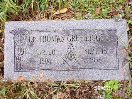 BIGGS, THOMAS GREY, DR - East Carroll County, Louisiana   THOMAS GREY, DR BIGGS - Louisiana Gravestone Photos