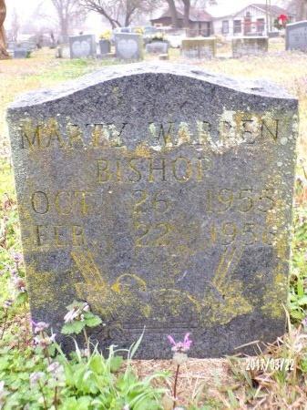 BISHOP, MARTY WARREN - East Carroll County, Louisiana | MARTY WARREN BISHOP - Louisiana Gravestone Photos