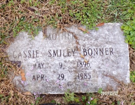 SMILEY BONNER, CASSIE - East Carroll County, Louisiana | CASSIE SMILEY BONNER - Louisiana Gravestone Photos