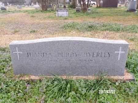 BYERLEY, JUANITA - East Carroll County, Louisiana | JUANITA BYERLEY - Louisiana Gravestone Photos