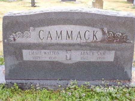 WALTON CAMMACK, EMMIE - East Carroll County, Louisiana | EMMIE WALTON CAMMACK - Louisiana Gravestone Photos