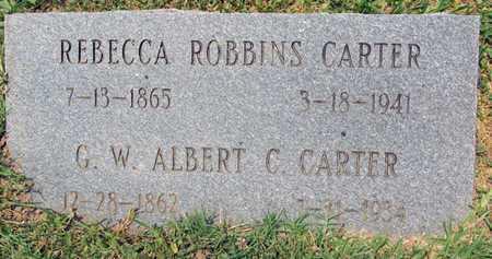ROBBINS CARTER, REBECCA - East Carroll County, Louisiana | REBECCA ROBBINS CARTER - Louisiana Gravestone Photos