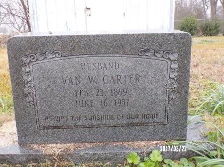 CARTER, VAN WILLIAM - East Carroll County, Louisiana | VAN WILLIAM CARTER - Louisiana Gravestone Photos