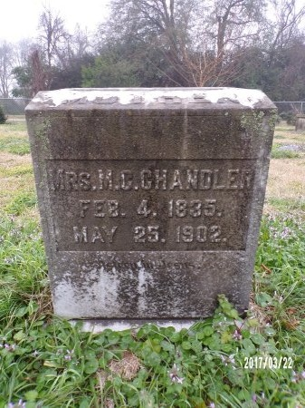 ERWIN WILLIAMS CHANDLER, M C - East Carroll County, Louisiana | M C ERWIN WILLIAMS CHANDLER - Louisiana Gravestone Photos