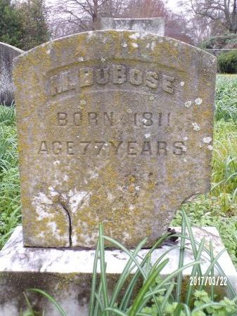 DUBOSE, M - East Carroll County, Louisiana   M DUBOSE - Louisiana Gravestone Photos