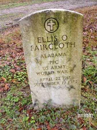 FAIRCLOTH , ELLIS O (VETERAN WWII) - East Carroll County, Louisiana | ELLIS O (VETERAN WWII) FAIRCLOTH  - Louisiana Gravestone Photos
