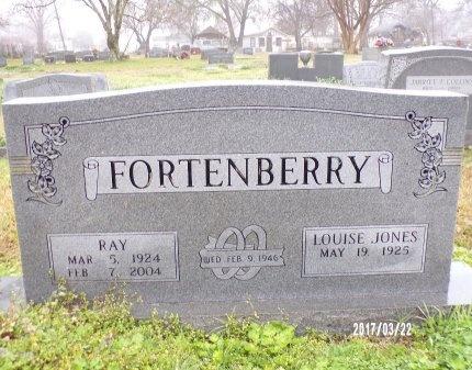FORTENBERRY, RAY - East Carroll County, Louisiana | RAY FORTENBERRY - Louisiana Gravestone Photos