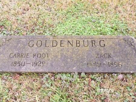 ROOT GOLDENBURG, CARRIE - East Carroll County, Louisiana | CARRIE ROOT GOLDENBURG - Louisiana Gravestone Photos