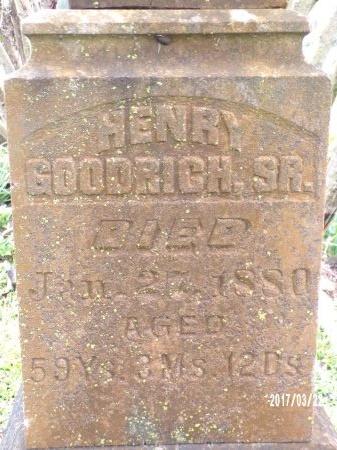 GOODRICH, HENRY, SR - East Carroll County, Louisiana | HENRY, SR GOODRICH - Louisiana Gravestone Photos