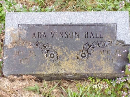 HALL, ADA - East Carroll County, Louisiana | ADA HALL - Louisiana Gravestone Photos