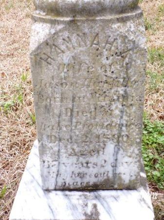 HAMILTON, HANNAH A - East Carroll County, Louisiana | HANNAH A HAMILTON - Louisiana Gravestone Photos