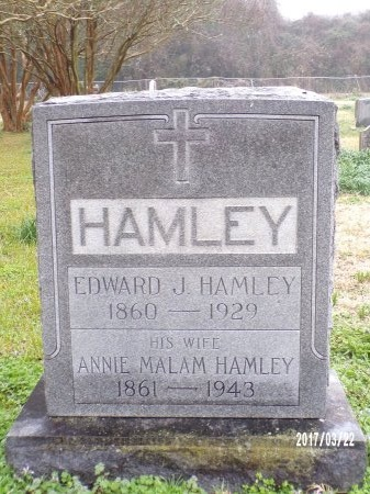 MALAM HAMLEY, ANNIE MARIA - East Carroll County, Louisiana | ANNIE MARIA MALAM HAMLEY - Louisiana Gravestone Photos