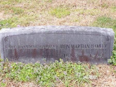 "RANSDELL HAMLEY, KATHERINE ""KATIE"" - East Carroll County, Louisiana   KATHERINE ""KATIE"" RANSDELL HAMLEY - Louisiana Gravestone Photos"