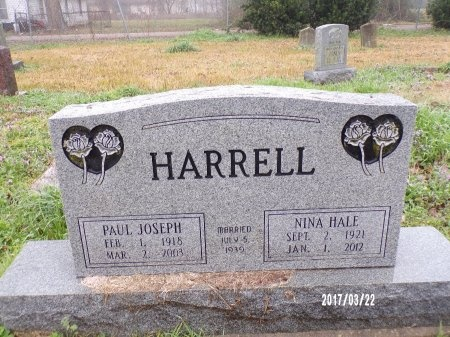 HARRELL, PAUL JOSEPH - East Carroll County, Louisiana | PAUL JOSEPH HARRELL - Louisiana Gravestone Photos