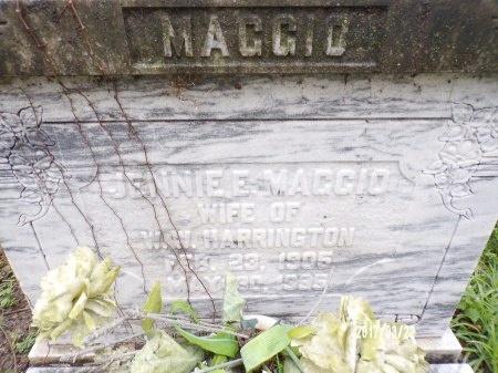 MAGGIO HARRINGTON, JENNIE E - East Carroll County, Louisiana   JENNIE E MAGGIO HARRINGTON - Louisiana Gravestone Photos