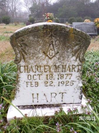 HART, CHARLEY M - East Carroll County, Louisiana | CHARLEY M HART - Louisiana Gravestone Photos