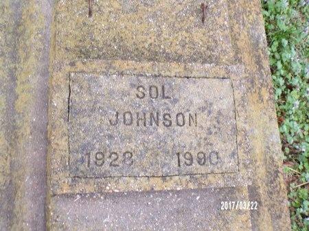 JOHNSON, SOL - East Carroll County, Louisiana   SOL JOHNSON - Louisiana Gravestone Photos