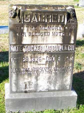 MCCULLOCH, KATE - East Carroll County, Louisiana | KATE MCCULLOCH - Louisiana Gravestone Photos