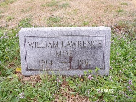 MOE, WILLIAM LAWRENCE - East Carroll County, Louisiana | WILLIAM LAWRENCE MOE - Louisiana Gravestone Photos
