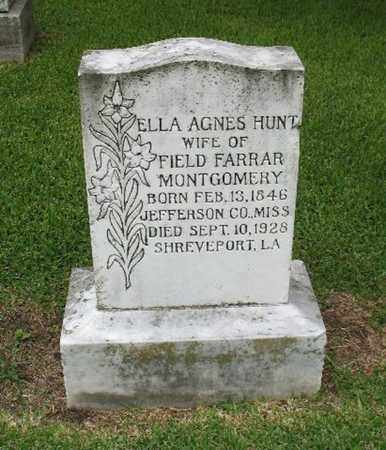 MONTGOMERY, ELLA AGNES - East Carroll County, Louisiana | ELLA AGNES MONTGOMERY - Louisiana Gravestone Photos