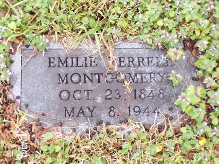MONTGOMERY, EMILIE - East Carroll County, Louisiana | EMILIE MONTGOMERY - Louisiana Gravestone Photos