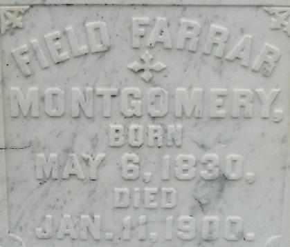 MONTGOMERY, FIELD FARRRAR (CLOSEUP) - East Carroll County, Louisiana   FIELD FARRRAR (CLOSEUP) MONTGOMERY - Louisiana Gravestone Photos