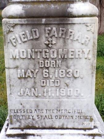 MONTGOMERY, FIELD FARRAR - East Carroll County, Louisiana | FIELD FARRAR MONTGOMERY - Louisiana Gravestone Photos