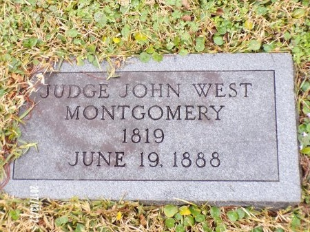 MONTGOMERY, JOHN WEST, JUDGE - East Carroll County, Louisiana | JOHN WEST, JUDGE MONTGOMERY - Louisiana Gravestone Photos