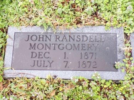 MONTGOMERY, JOHN RANSDELL - East Carroll County, Louisiana | JOHN RANSDELL MONTGOMERY - Louisiana Gravestone Photos