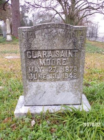 SAINT MOORE, CLARA  - East Carroll County, Louisiana | CLARA  SAINT MOORE - Louisiana Gravestone Photos