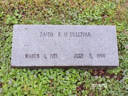 O'SULLIVAN, ZAIDA R - East Carroll County, Louisiana | ZAIDA R O'SULLIVAN - Louisiana Gravestone Photos