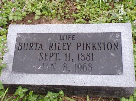 RILEY PINKSTON, BURTA - East Carroll County, Louisiana | BURTA RILEY PINKSTON - Louisiana Gravestone Photos