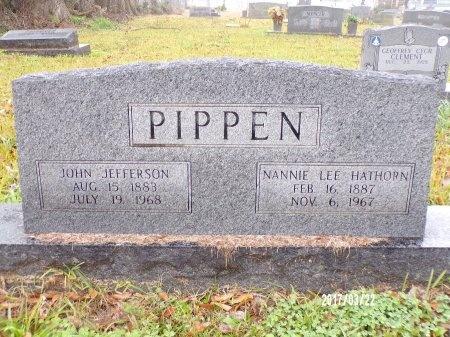 PIPPEN, JOHN JEFFERSON - East Carroll County, Louisiana | JOHN JEFFERSON PIPPEN - Louisiana Gravestone Photos