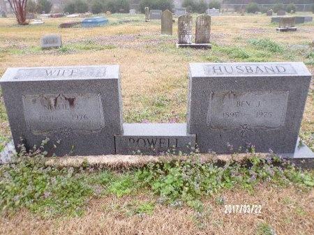 POWELL, BEN J - East Carroll County, Louisiana   BEN J POWELL - Louisiana Gravestone Photos