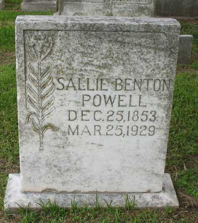 BENTON POWELL, SALLIE - East Carroll County, Louisiana | SALLIE BENTON POWELL - Louisiana Gravestone Photos
